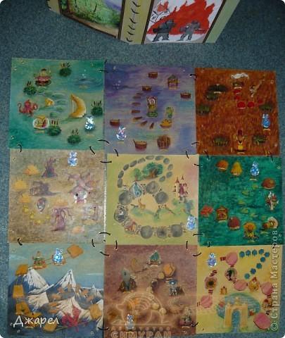 Основное поле игры состоит из 9 боков, которые легко меняются местами фото 3