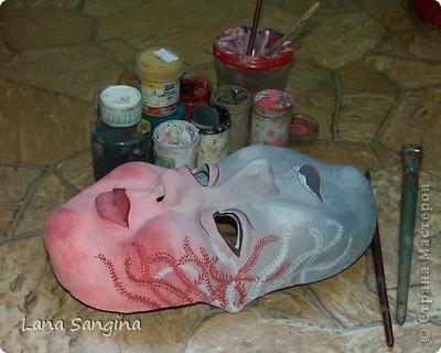 Маска для хелоуина. фото 6