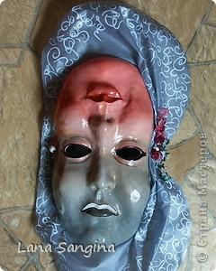 Маска для хелоуина. фото 1