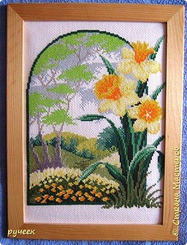 """""""цветет сакура"""" все эти работы я выполнила примерно лет пять назад по схемам из журнала ВК  фото 2"""