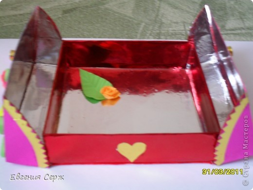 вот такая получилась коробочка фото 2