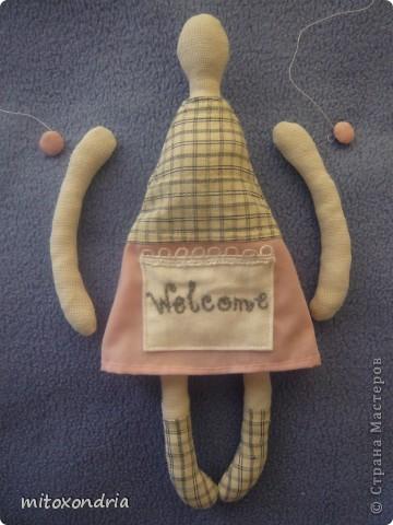 Свою малышку я сшила, полюбовавшись куколками Ksu 79. Вот ссылка http://stranamasterov.ru/node/137811?c=favorite Большое Вам спасибо, Ksu! фото 3