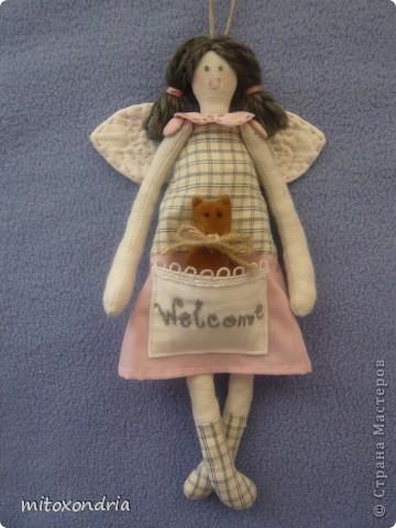 Свою малышку я сшила, полюбовавшись куколками Ksu 79. Вот ссылка http://stranamasterov.ru/node/137811?c=favorite Большое Вам спасибо, Ksu! фото 1