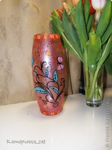 Декор вазы фото 2
