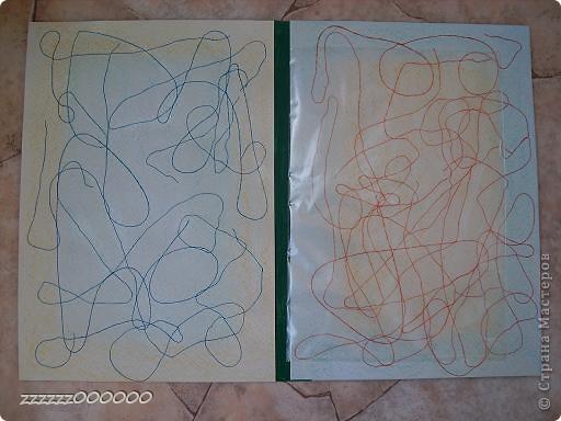 Сделала для сынишки свидетельство о рождении. Взяла упаковку от акварельной бумаги. Обклеила цветной салфеткой и сделала надпись, приклеила объемные наклейки. фото 2