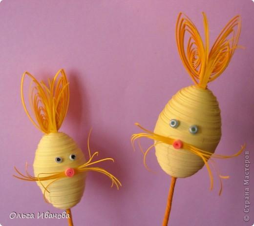 Скоро Пасха, решила приготовить родным и друзьям вот таких яйцеобразных кроликов. фото 3