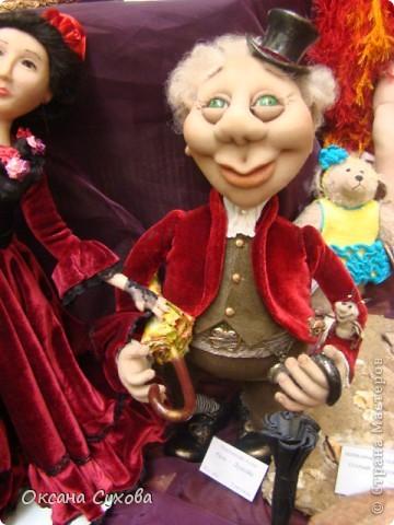 Фотоотчёт №3 с 5-й Московской международной выставки-ярморки кукол и медведей Тедди фото 1