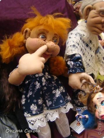 Фотоотчёт №3 с 5-й Московской международной выставки-ярморки кукол и медведей Тедди фото 4