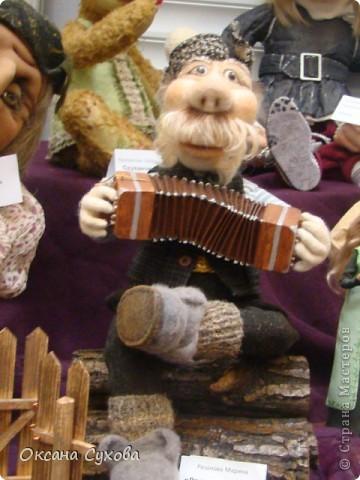 Фотоотчёт №3 с 5-й Московской международной выставки-ярморки кукол и медведей Тедди фото 5