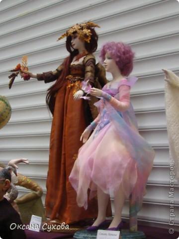 Фотоотчёт №3 с 5-й Московской международной выставки-ярморки кукол и медведей Тедди фото 8