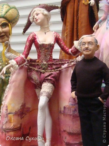 Фотоотчёт №3 с 5-й Московской международной выставки-ярморки кукол и медведей Тедди фото 9