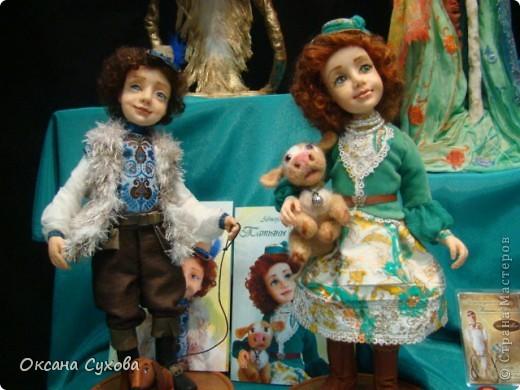 Фотоотчёт №3 с 5-й Московской международной выставки-ярморки кукол и медведей Тедди фото 11