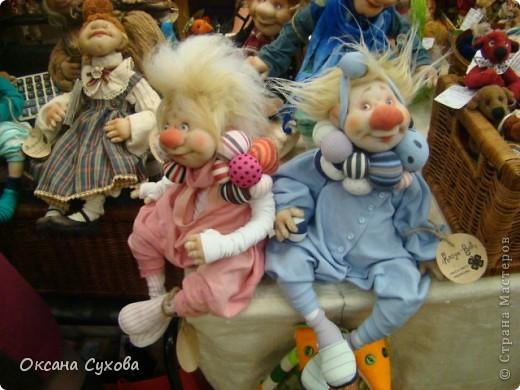 Фотоотчёт №3 с 5-й Московской международной выставки-ярморки кукол и медведей Тедди фото 14