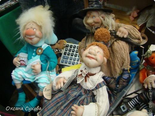 Фотоотчёт №3 с 5-й Московской международной выставки-ярморки кукол и медведей Тедди фото 15