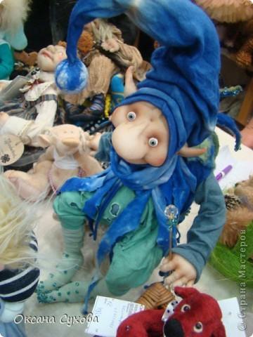 Фотоотчёт №3 с 5-й Московской международной выставки-ярморки кукол и медведей Тедди фото 16