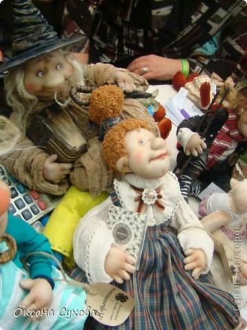 Фотоотчёт №3 с 5-й Московской международной выставки-ярморки кукол и медведей Тедди фото 17