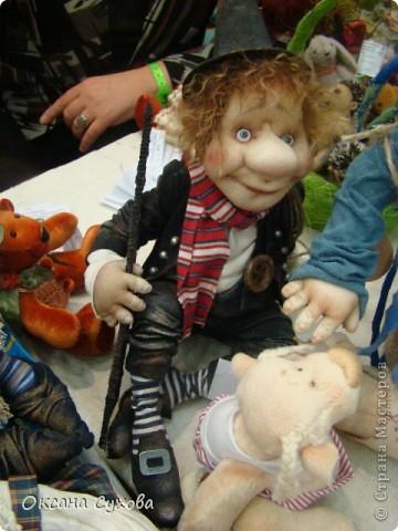 Фотоотчёт №3 с 5-й Московской международной выставки-ярморки кукол и медведей Тедди фото 18