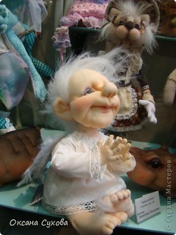 Фотоотчёт №3 с 5-й Московской международной выставки-ярморки кукол и медведей Тедди фото 22
