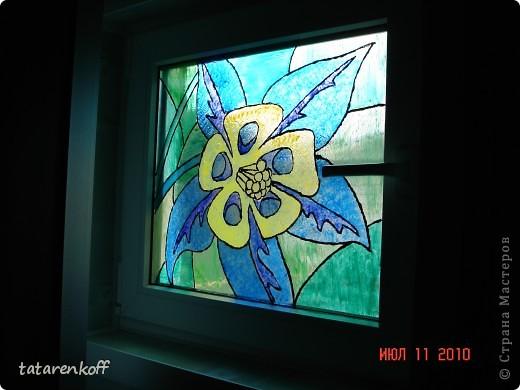 Роспись витражными красками фото 1