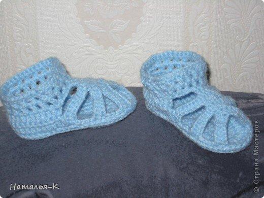 Летняя обувь. для деток возрастом 7-8 мес. фото 1