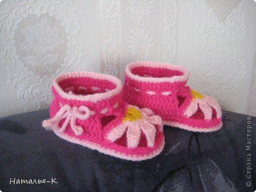 Летняя обувь. для деток возрастом 7-8 мес. фото 6