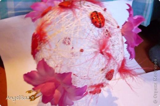 Делаю шар на подарок, ещё не совсем готов.. Жаль другие не сфоткала...   фото 5