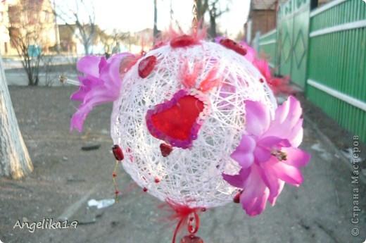 Делаю шар на подарок, ещё не совсем готов.. Жаль другие не сфоткала...   фото 3