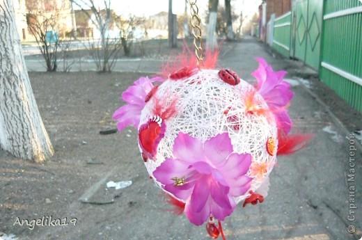 Делаю шар на подарок, ещё не совсем готов.. Жаль другие не сфоткала...   фото 4