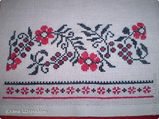 Вышивка крестом Рушник