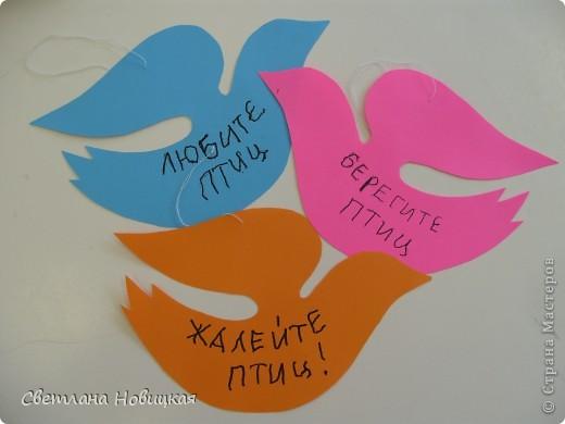 """1 апреля у нас завершился проект """"Птицы наши друзья"""".  фото 17"""