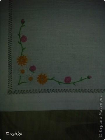 "Моя первая салфетка...техника ""рококо"" :) плюс мережки... фото 2"
