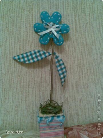 Тильдовский цветок фото 1