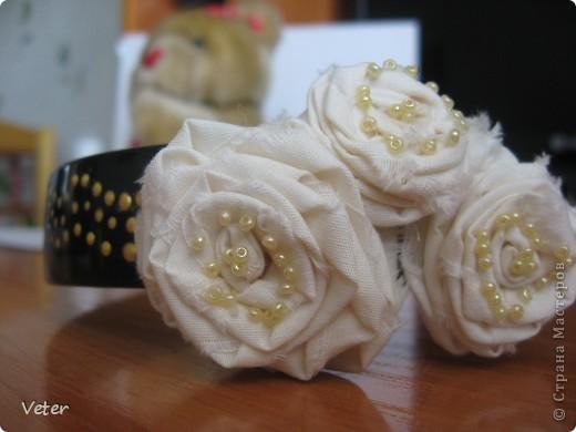 Что можно сделать из простой ткани? оказывается много чего.. Крутим розы! и получаем комплекты на лето! фото 2