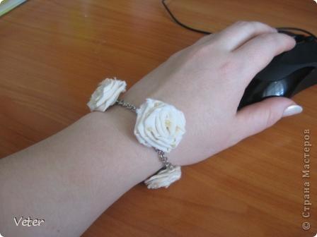 Что можно сделать из простой ткани? оказывается много чего.. Крутим розы! и получаем комплекты на лето! фото 6