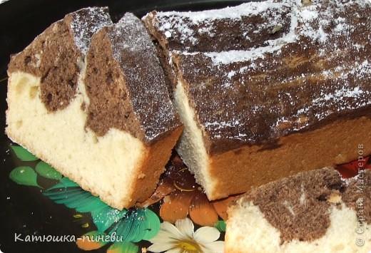 """Кекс """"мраморный"""", ванильно-шоколадный"""