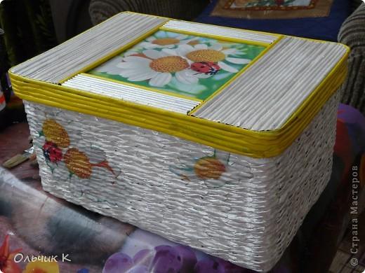 Наконец-то я сделала первую коробку для себя любимой. :) Выставляю на ваш суд. фото 1
