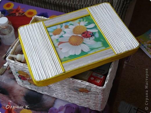 Наконец-то я сделала первую коробку для себя любимой. :) Выставляю на ваш суд. фото 2