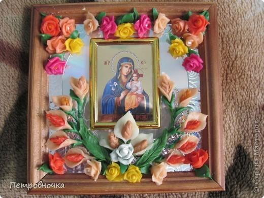 Сегодня ездила к своему духовному отцу Стефану, отвезла подарки ко всем праздникам. Эти нарцысы к Пасхе. фото 3