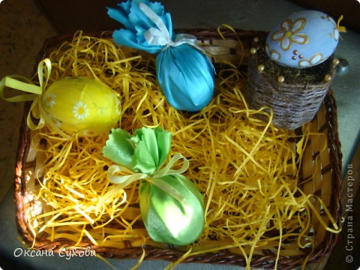 Декорирование яиц фото 1