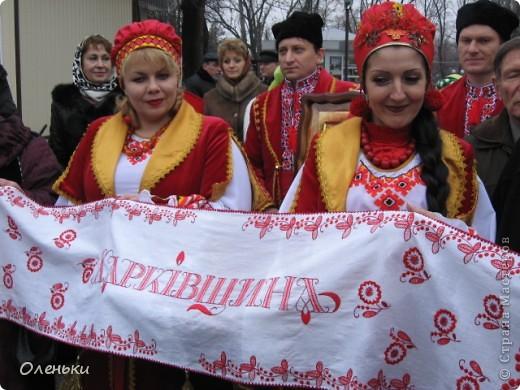 Сверхрушник, сшитый из рушников, представляющих разные области Украины, откроет чемпионат Европы по футболу в 2012 году фото 3