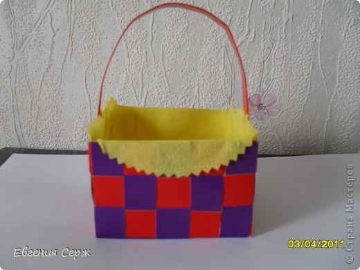 мини-МК пасхальные - сувенирные корзиночки схемка будет ниже фото 7
