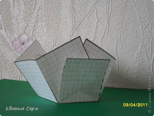мини-МК пасхальные - сувенирные корзиночки схемка будет ниже фото 11