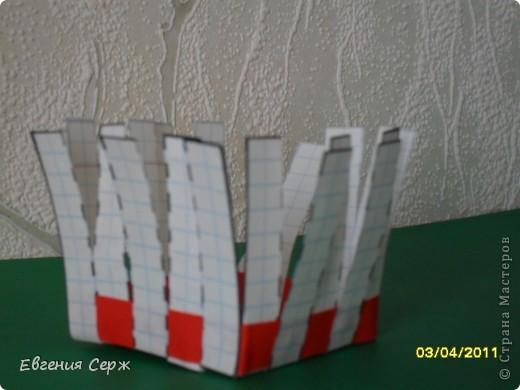 мини-МК пасхальные - сувенирные корзиночки схемка будет ниже фото 9