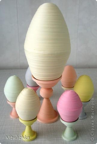 Вот такие яйца-заготовки получились. Маленькие - куриные, большое - ... (до страусиного не дотянуло) фото 9