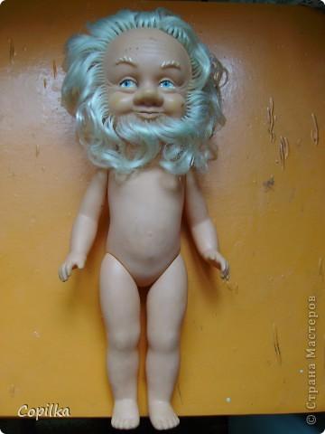 Ох и люблю я приводить в порядок старых кукол!Вот ,принесли очередного бомжика - старая германская кукла. фото 1