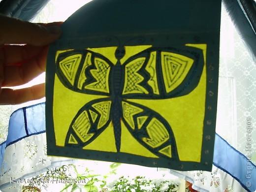 Очень порадовала меня дочка оригинальной открыткой ко дню рождения. Дизайн, задумка, выполнение полностью Машино. фото 1