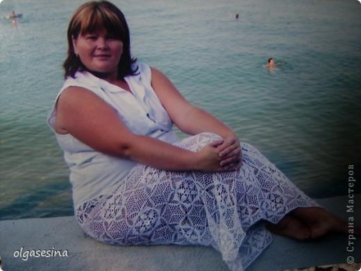 Такую юбку связала специально для походов на пляж. Практика показала, что это удобно, красиво и стильно. фото 1