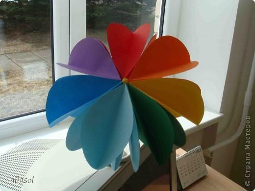 Вот такие цветочки получились! Есть много идей по их применению. Например, из этих будем делать пасхальную композицию. Потом покажу результат. фото 18