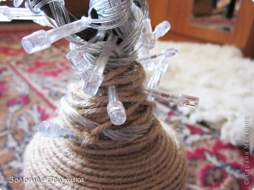 Как мы делали волшебное светящееся деревце) фото 3