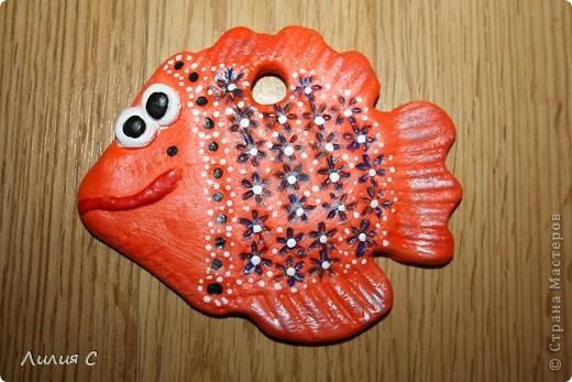 Апельсиновая рыбка получилась в этот раз